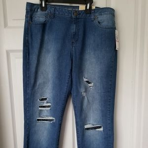 MICHAEL KORS DILLON RELAXED JEANS SIZE 10